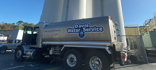 davis water service randleman north carolina