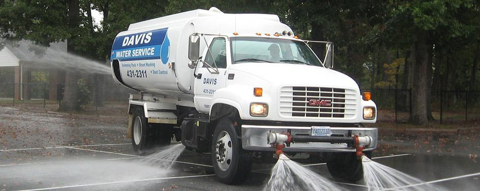 Street Washing Vehicle Service